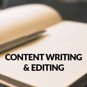 Content Writing and Editing